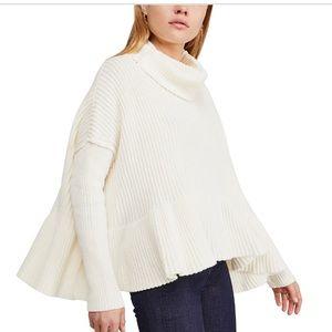 Free people layer cake sweater NWT